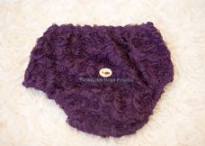 Grape Rosette Nappy Cover